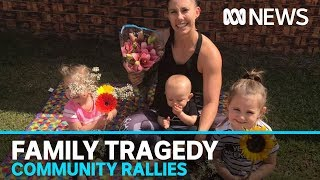 Grieving community honours Hannah Clarke and her children | ABC News