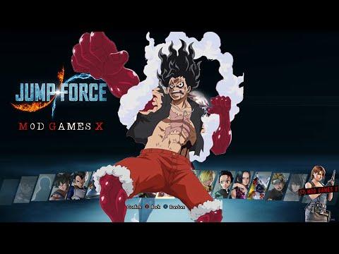 JUMP FORCE MOD - LUFFY GEAR 4 SNAKE MAN