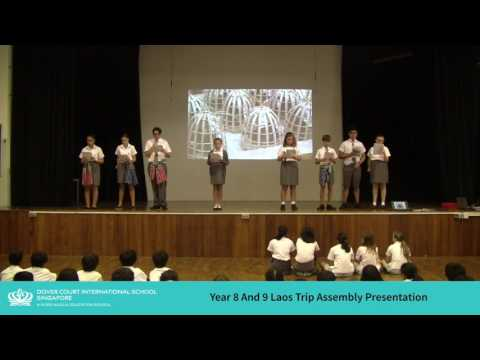 Year 8 and 9 Laos Trip Assembly Presentation