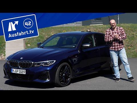 2021 BMW M340d xDrive Limousine (G20) - Kaufberatung, Test deutsch, Review, Fahrbericht Ausfahrt.tv