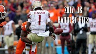 College Football Hardest Hits 2017-18    Part 1    ᴴᴰ