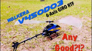 Road To RC Helicopter Scale Fuselage - Ep 1 Walkera V450D03 Stock RTF How Does It Fair?