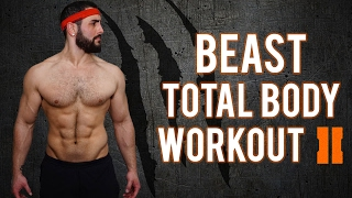 7 Minute No-Gym Total Body BEAST Home Workout - PART 2 | Total Body Workout For Men (No EQUIPMENT by BarbarianBody