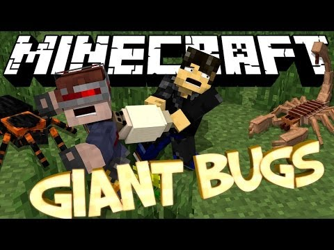 Minecraft Mod Showcase : Erebus Mod (Giant Evil Bugs - Bug Dimension)