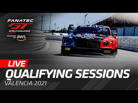 ブランパンGT 2021 バレンシア GT 予選タイムアタックのライブ配信動画