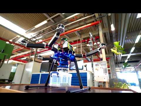 RÖHM Greiflösungen für Drohnen