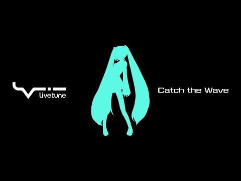 【初音ミク】livetune feat. Hatsune Miku「Catch the Wave」Music Video【Project DIVA MEGA39's】