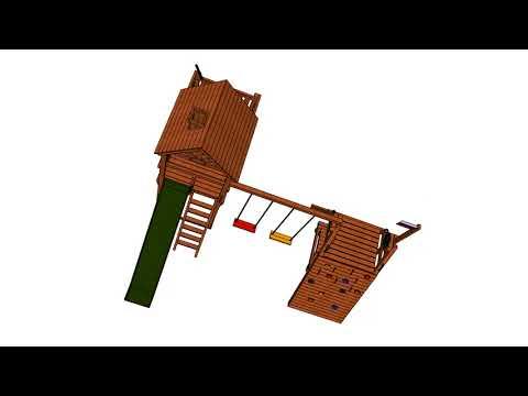 Видеообзор детской площадки