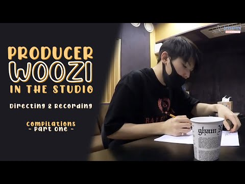[ENG SUB] Seventeen Woozi In Recording Studio [Going Seventeen Cut] (고잉세븐틴 프로듀서 우지 모음)