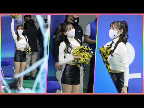 치어리더 정희정 직캠 (cheerleader) - 승요(승리요정)/마무리퇴장 @여자농구(우리은행)/20113…