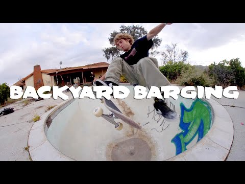 BACKYARD BARGING # 1 | Transworld Skateboarding