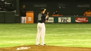 福岡ソフトバンクホークスジェイソン・スタンリッジ投球フォーム