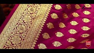 Latest Pure Indian Banarasi Katan Bridal & Party Sarees With Price | Bridal Banarasi Katan 2018