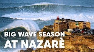 The Historic Nazaré Season of 2017-2018 | Sessions