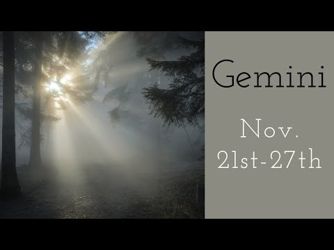 """Gemini:  Nov. 21st-27th  """"THIS PERSON WANTS COMMITMENT WITH YOU, BUT..."""""""