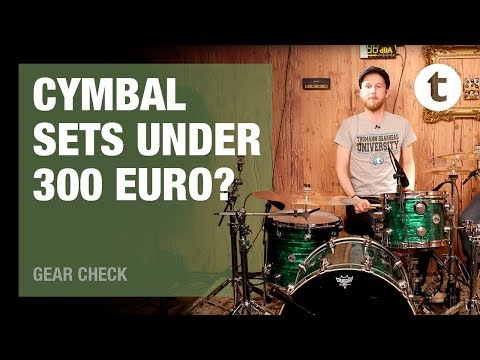 Top 6 | Best Budget Cymbal Sets Under 300 Euros | Thomann
