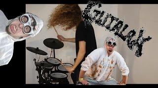 Hot Dick Bobnar Simon - drum cover GUTALAX - Gore n roll grind slam