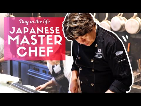 Day in the Life of a Japanese Master Chef