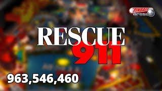 Rescue 911 ::: 963,546,460 ::: The Pinball Arcade (PC Gameplay)