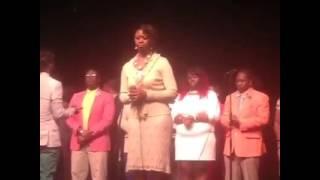 """""""Faith Over Fear"""" Live Cedric Miles &a The United Voices of Praise"""