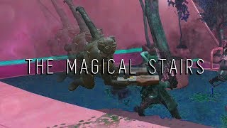 The Magical Secret Stairs Of Magic. And Stuff.