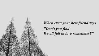 Coldplay – We All Fall In Love Sometimes (lyrics)