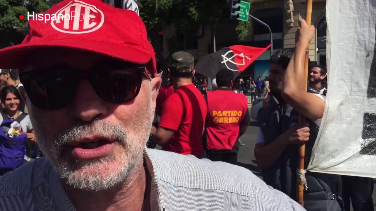 Movimiento obrero paraliza Argentina para exigir reformas económicas