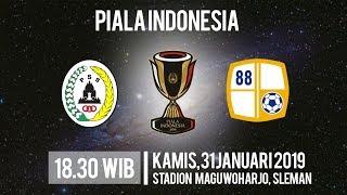 Live Streaming Leg 2 Piala Indonesia PSS Sleman Vs Barito Putera, Kamis Pukul 18.30 WIB