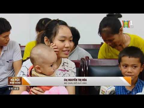 Tết thiếu nhi yêu thương với trẻ em đang điều trị tại Bệnh viện Tim Hà Nội 2019.