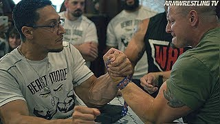 Lethal Arms vs BEAST MODE ARM WRESTLING 2018