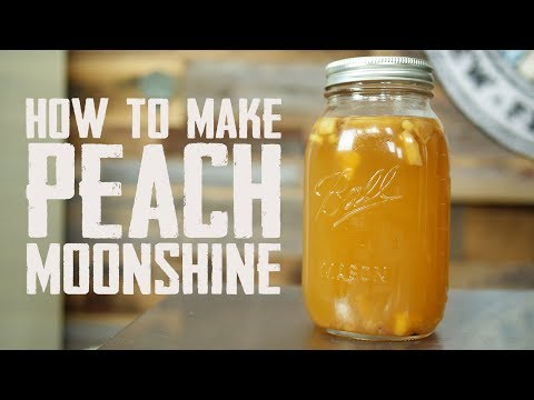 How to Make Peach Moonshine