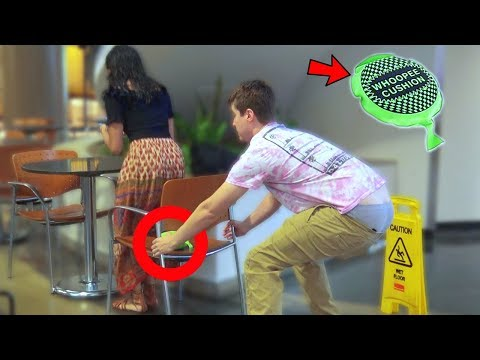 Download Chair Pulling Fart Prank P2 HD Mp4 3GP Video and MP3