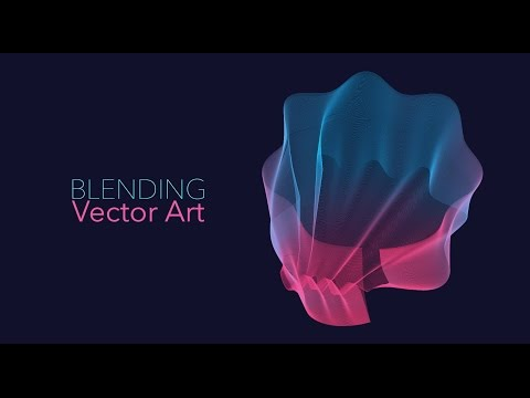 Blending Vector Art – Adobe Illustrator/Photoshop
