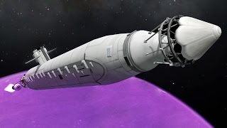 Sending a Submarine to Eve & launching a missile from it REDUX - KSP