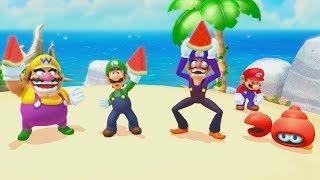 Mario Party 10 - All Hard Minigames