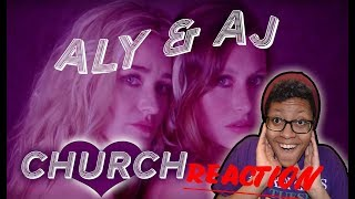 Aly & AJ Church (Music Video) Reaction