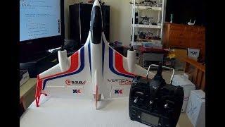 "XK X520 VTOL AIRPLANE ""QUICK REVIEW & CRASHES!"""