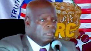 Moses Z. Blah testify at the TRC in Liberia Part 1