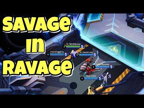 Savage In Ravage | Gameplay | Mobile Legends