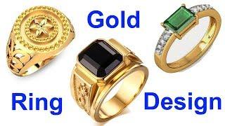Mens Gold Ring Design
