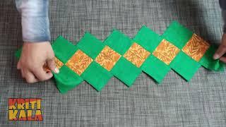 बचे हुए कपडे से बनाये सुन्दर कुशन कवर    Make Cushion Cover At Home From West Clothes