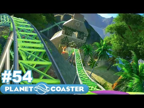 Let's Build the Ultimate Theme Park! - Planet Coaster - Part 54 (New Coaster with TWD98!)