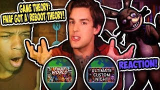 Game Theory: FNAF Just Got A Reboot... (FNAF VR Help Wanted) REACTION    LINKED WORLDS?!