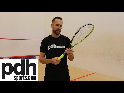 Review of the Salming Fusione Powerlite squash racket by PDHSports.com