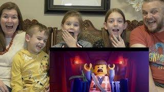 LEGO MOVIE 2 TRAILER | FAMILY REACTION