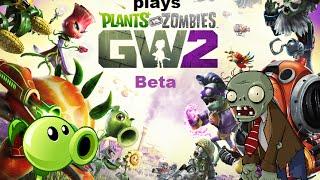 Peashooter and Zombie plays Garden Warfare 2 Beta