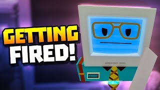 GETTING FIRED FROM THE OFFICE - Job Simulator VR Gameplay - VR HTC Vive Pro Gameplay