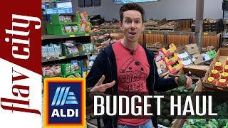 ALDI Budget Grocery Haul - Healthy Shopping On A Budget