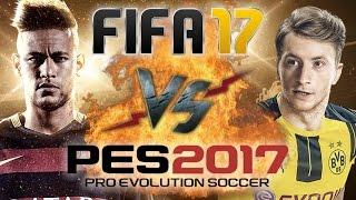 Рэп Баттл - FIFA 17 vs. PES 2017