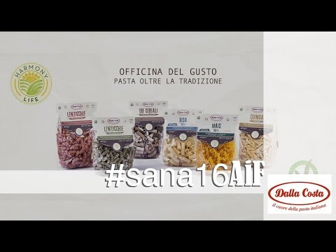 Pasta di farina di legumi, biologica e vegetale: 100% Legumi - Dalla Costa